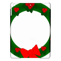 Holiday Wreath Ipad Air Hardshell Cases