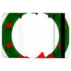 Holiday Wreath Ipad Air Flip