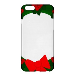 Holiday Wreath Apple Iphone 6 Plus/6s Plus Hardshell Case