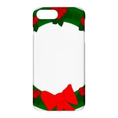 Holiday Wreath Apple Iphone 7 Plus Hardshell Case