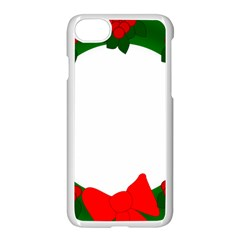 Holiday Wreath Apple Iphone 7 Seamless Case (white)