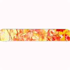 Monotype Art Pattern Leaves Colored Autumn Small Bar Mats