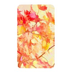 Monotype Art Pattern Leaves Colored Autumn Memory Card Reader