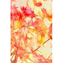 Monotype Art Pattern Leaves Colored Autumn 5 5  X 8 5  Notebooks