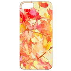 Monotype Art Pattern Leaves Colored Autumn Apple Iphone 5 Classic Hardshell Case
