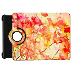Monotype Art Pattern Leaves Colored Autumn Kindle Fire Hd 7