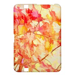 Monotype Art Pattern Leaves Colored Autumn Kindle Fire Hd 8 9