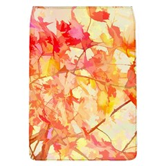 Monotype Art Pattern Leaves Colored Autumn Flap Covers (l)