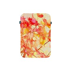 Monotype Art Pattern Leaves Colored Autumn Apple Ipad Mini Protective Soft Cases