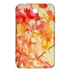 Monotype Art Pattern Leaves Colored Autumn Samsung Galaxy Tab 3 (7 ) P3200 Hardshell Case