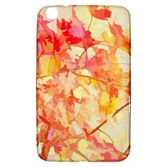 Monotype Art Pattern Leaves Colored Autumn Samsung Galaxy Tab 3 (8 ) T3100 Hardshell Case