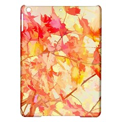 Monotype Art Pattern Leaves Colored Autumn Ipad Air Hardshell Cases