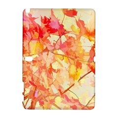 Monotype Art Pattern Leaves Colored Autumn Galaxy Note 1
