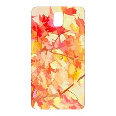 Monotype Art Pattern Leaves Colored Autumn Samsung Galaxy Note 3 N9005 Hardshell Back Case