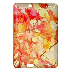 Monotype Art Pattern Leaves Colored Autumn Amazon Kindle Fire Hd (2013) Hardshell Case