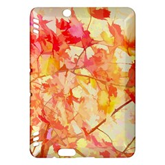 Monotype Art Pattern Leaves Colored Autumn Kindle Fire Hdx Hardshell Case