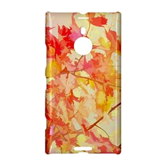 Monotype Art Pattern Leaves Colored Autumn Nokia Lumia 1520