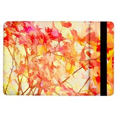 Monotype Art Pattern Leaves Colored Autumn Ipad Air Flip