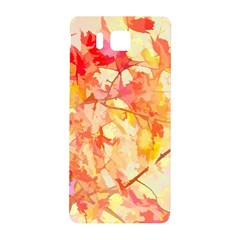 Monotype Art Pattern Leaves Colored Autumn Samsung Galaxy Alpha Hardshell Back Case