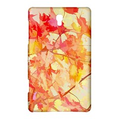 Monotype Art Pattern Leaves Colored Autumn Samsung Galaxy Tab S (8 4 ) Hardshell Case