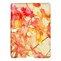 Monotype Art Pattern Leaves Colored Autumn Samsung Galaxy Tab S (10 5 ) Hardshell Case