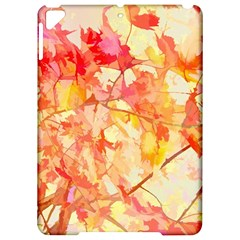 Monotype Art Pattern Leaves Colored Autumn Apple Ipad Pro 9 7   Hardshell Case