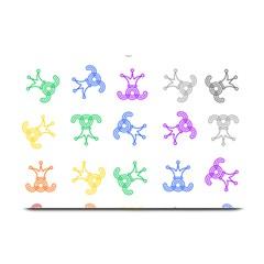 Rainbow Clown Pattern Plate Mats