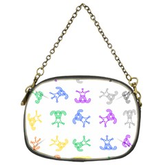 Rainbow Clown Pattern Chain Purses (one Side)