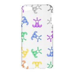 Rainbow Clown Pattern Apple Ipod Touch 5 Hardshell Case