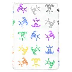 Rainbow Clown Pattern Flap Covers (l)