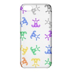 Rainbow Clown Pattern Apple Iphone 5c Hardshell Case