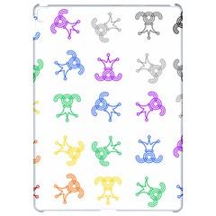 Rainbow Clown Pattern Apple Ipad Pro 12 9   Hardshell Case
