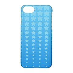 Blue Stars Background Apple Iphone 7 Hardshell Case