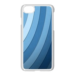 Blue Wave Apple Iphone 7 Seamless Case (white)