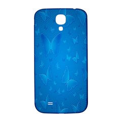 Butterflies Blue Butterfly Samsung Galaxy S4 I9500/i9505  Hardshell Back Case