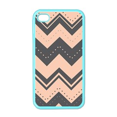 Chevron Ideas Gray Colors Combination Apple Iphone 4 Case (color)