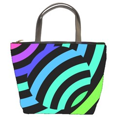 Colorful Roulette Ball Bucket Bags