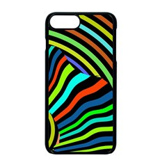 Colorful Cat Apple Iphone 7 Plus Seamless Case (black)