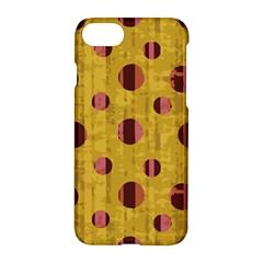 Dot Mustard Apple Iphone 7 Hardshell Case