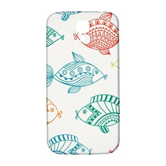 Fish Samsung Galaxy S4 I9500/i9505  Hardshell Back Case