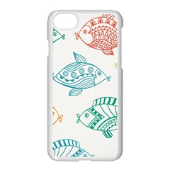 Fish Apple Iphone 7 Seamless Case (white)