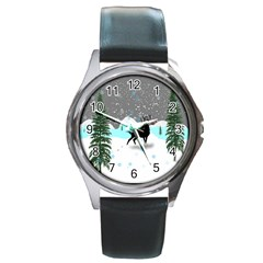 Rocky Mountain High Colorado Round Metal Watch