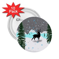 Rocky Mountain High Colorado 2 25  Buttons (10 Pack)