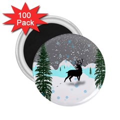 Rocky Mountain High Colorado 2 25  Magnets (100 Pack)