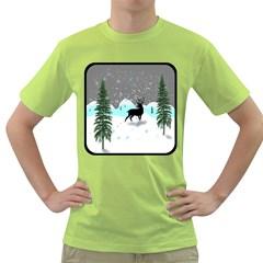 Rocky Mountain High Colorado Green T Shirt