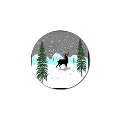 Rocky Mountain High Colorado Golf Ball Marker