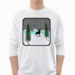 Rocky Mountain High Colorado White Long Sleeve T Shirts