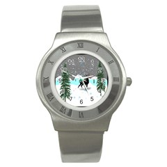 Rocky Mountain High Colorado Stainless Steel Watch