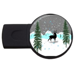 Rocky Mountain High Colorado Usb Flash Drive Round (4 Gb)