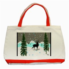 Rocky Mountain High Colorado Classic Tote Bag (red)